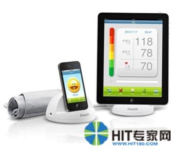 全球首款用苹果测血压的iHealth进入中国