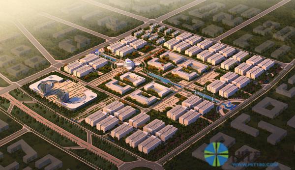 中国电信医疗影像云平台所在内蒙古云基地鸟瞰
