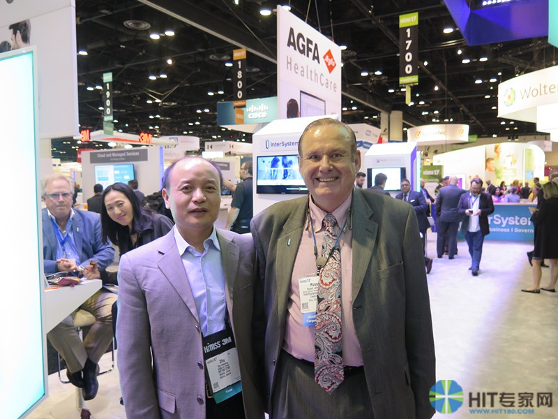 HIT专家网与HL7国际理事会成员、医学博士、InterSystems公司互操作性高级临床顾问Russell Leftwich 进行交流沟通
