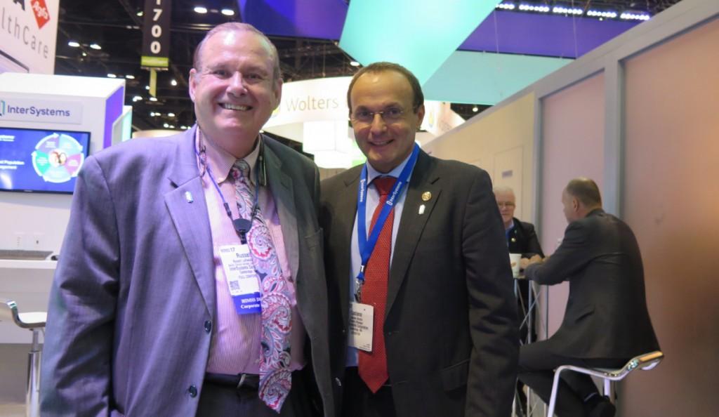 InterSystems公司互操作性高级临床顾问Russell Leftwich博士、InterSystems公司大中华区总经理卢侠亮
