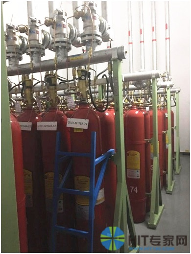 云机房消防气瓶间