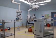 """""""诺亞""""机器人悄然亮相广州妇儿中心:智慧物流让医疗更安全"""