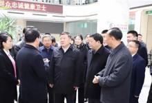 陈竺副委员长视察平阴县智慧健康工程