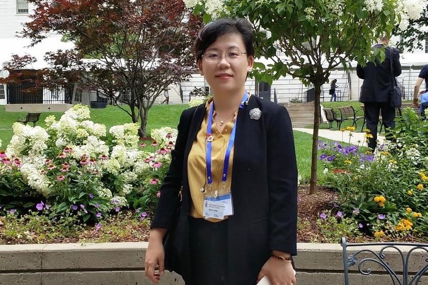 航天中心医院副院长杨姝雅