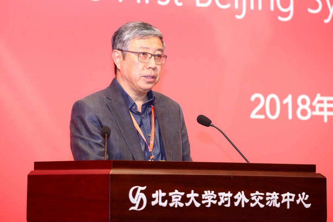 北京大学副校长田刚教授