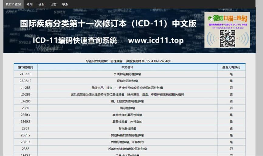 ICD查询